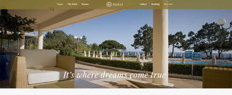 Be Hotel WP Theme