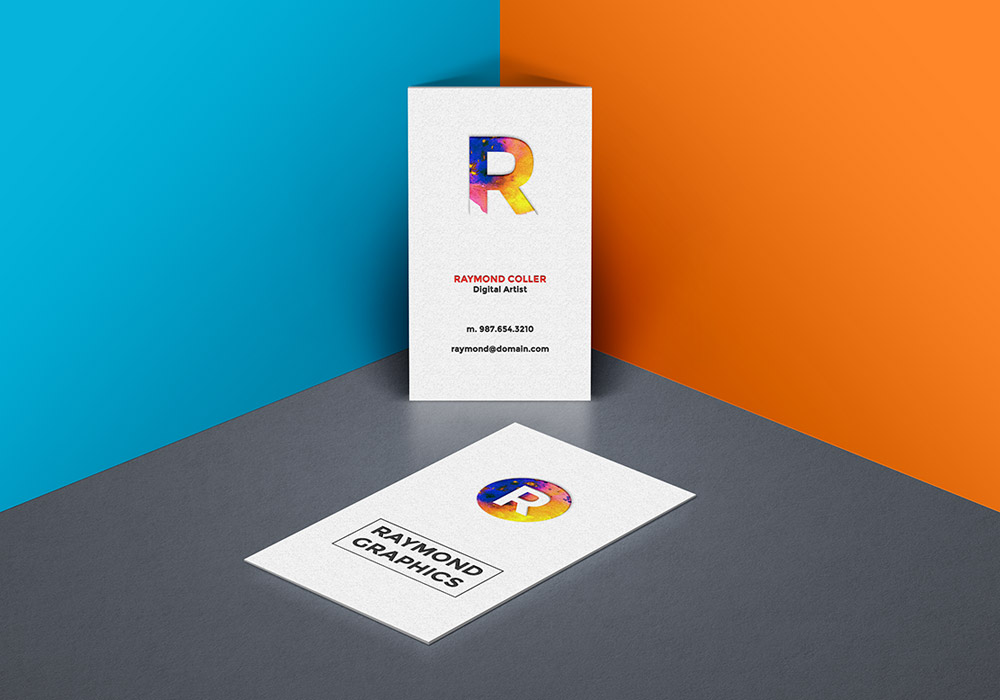 Business Card Mockup PSD Template