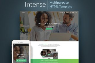 Intense Multipurpose HTML Website Template