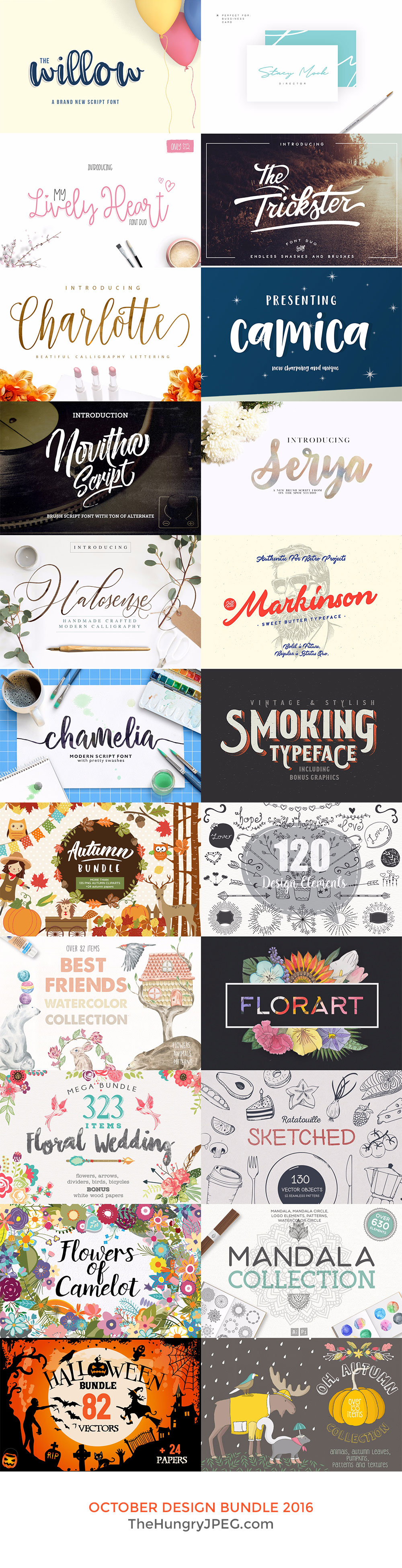 October Design Bundle