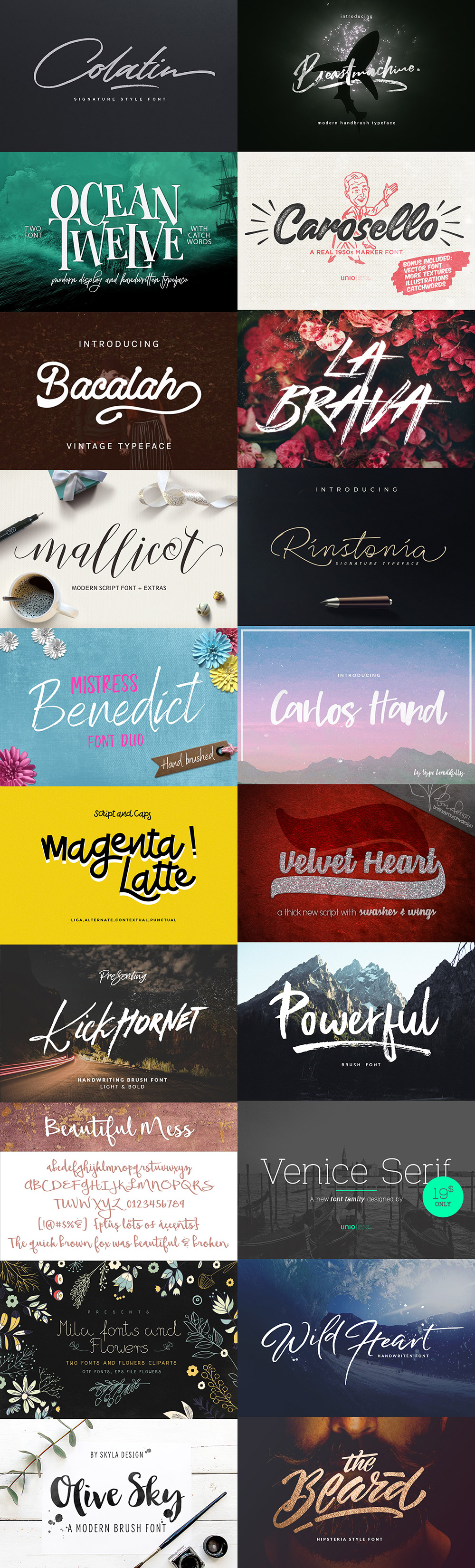 November Fonts Bundle