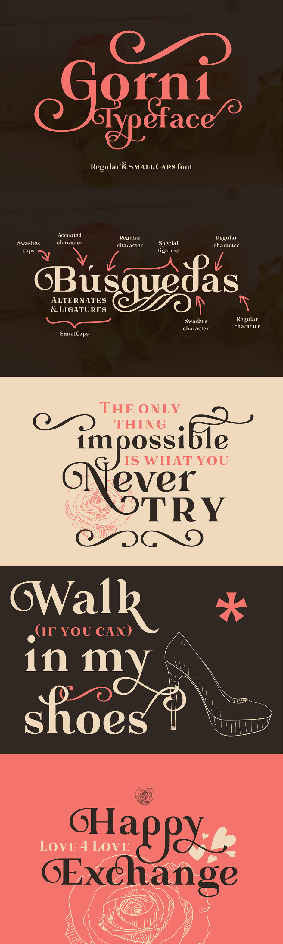 Definitive Fonts Bundle Gorni Typeface