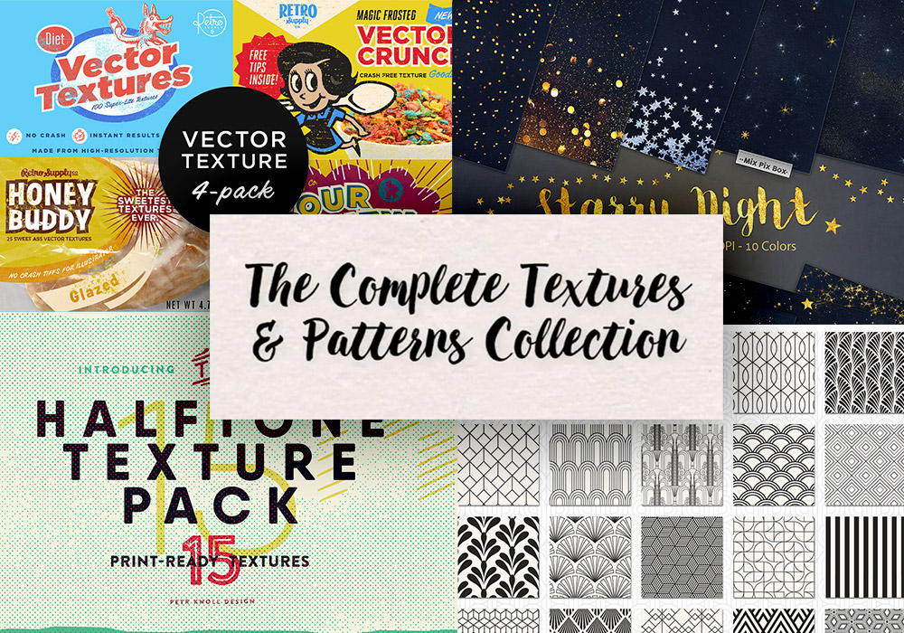 The Complete Textures and Patterns Collection