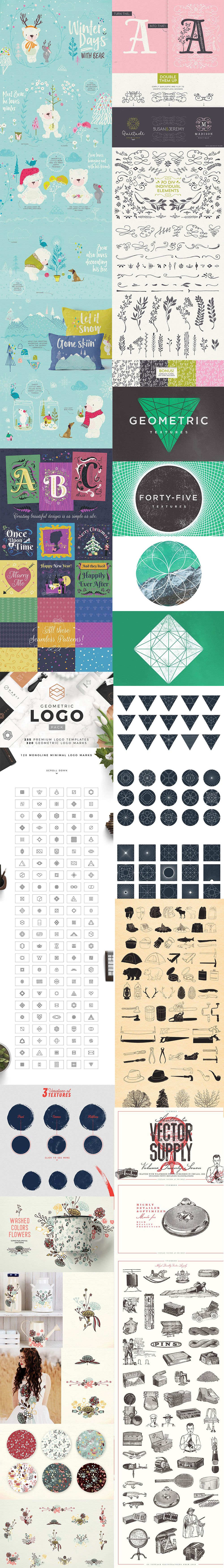 Premium Vectors Bundle