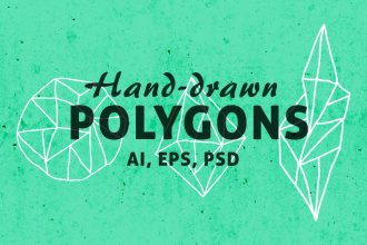 Free Geometric Polygon Shapes