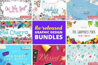 Re-Released: Graphic Design Bundles