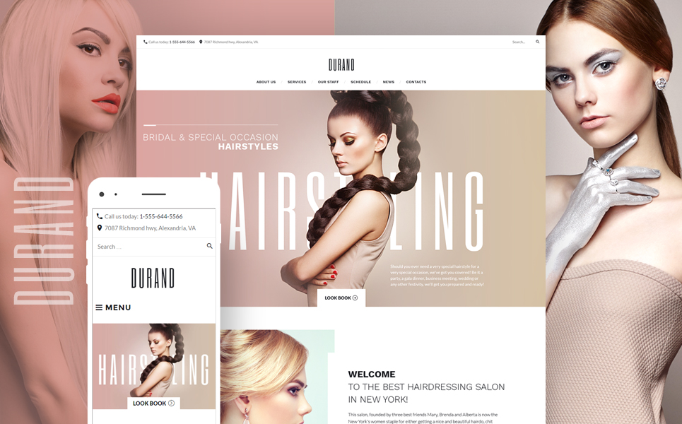 Beauty & Hair Salon WordPress Theme