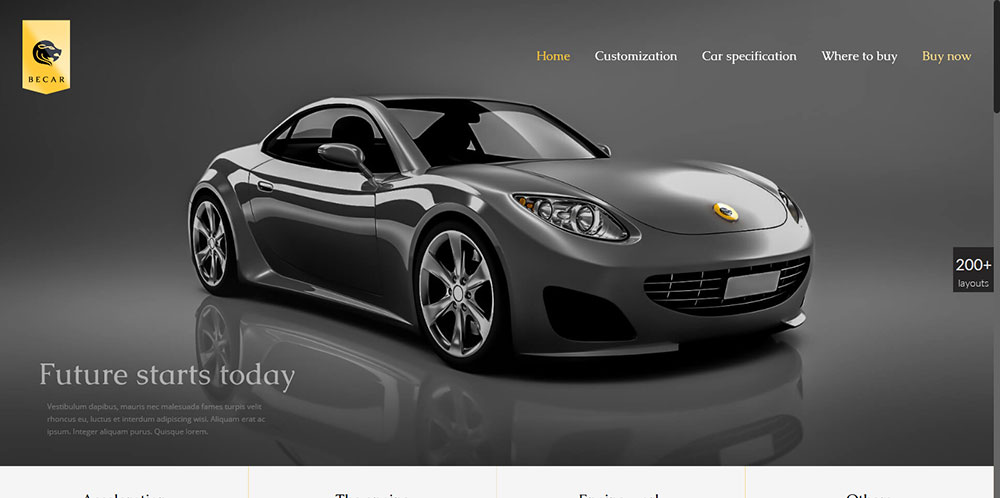 Be Theme Car
