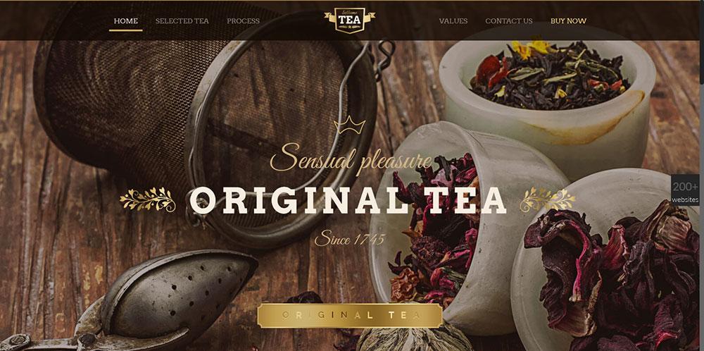 Be Theme Tea