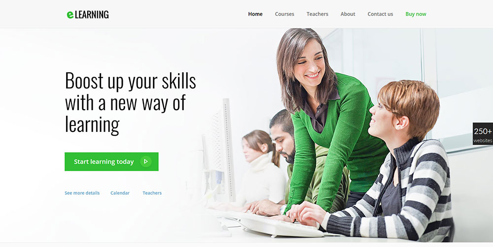 Be Theme E-Learning