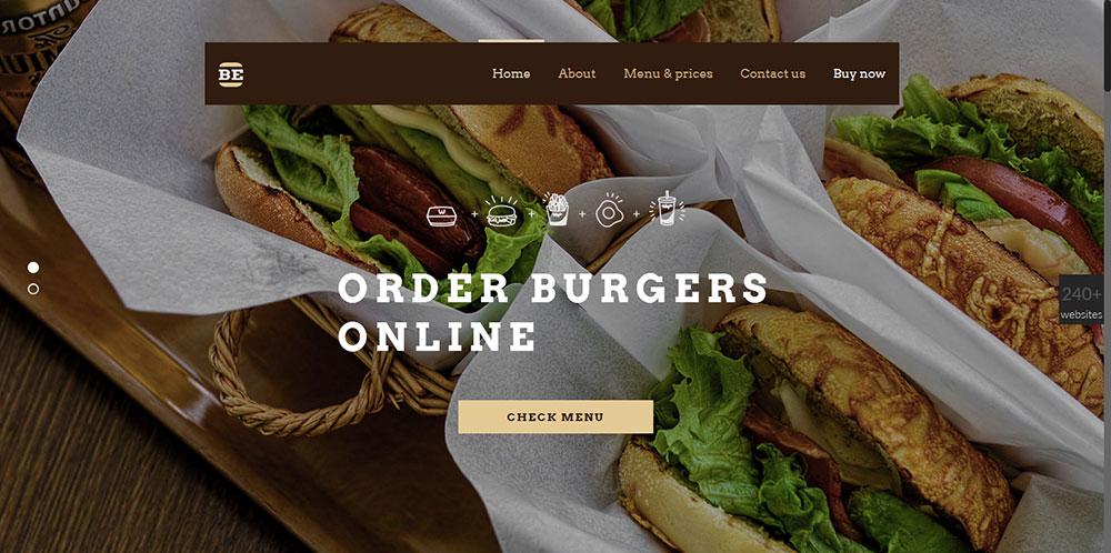 Be Theme Burger