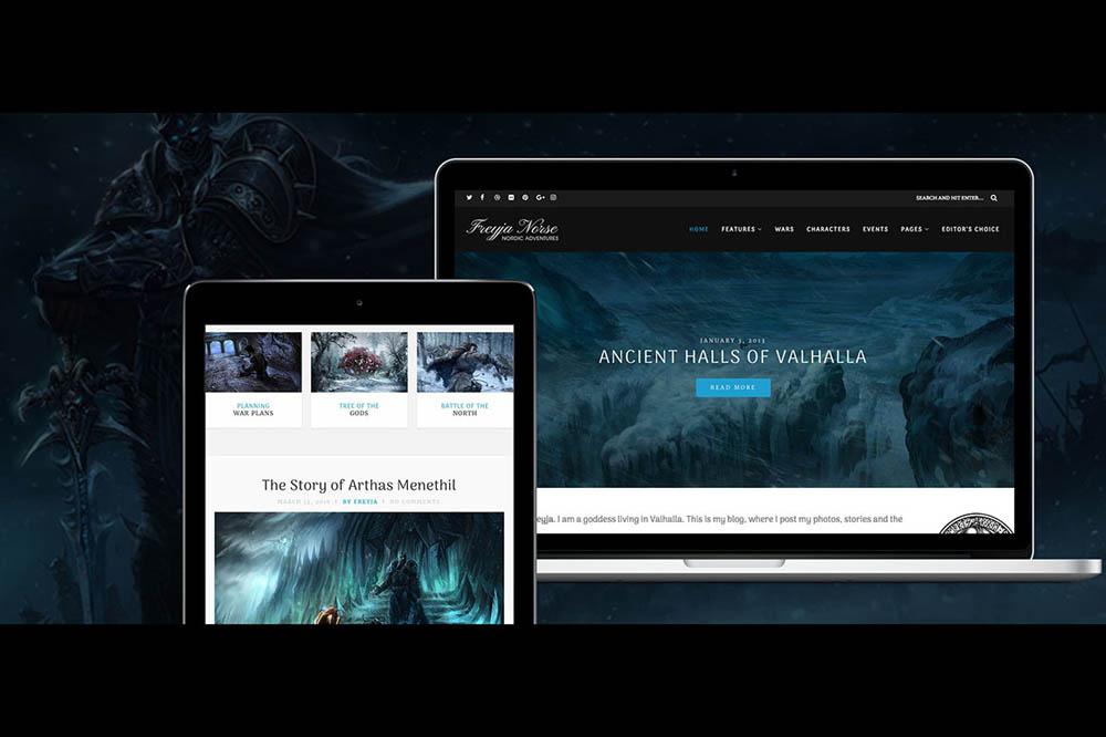 Freya Free WordPress Theme