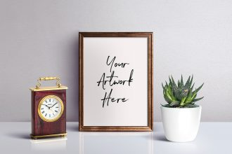 Photo Frame PSD Mockup