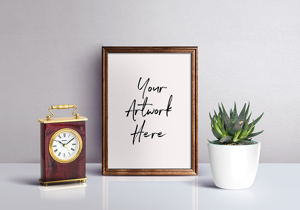 Picture Frame Mockup Psd Graphicsfuel