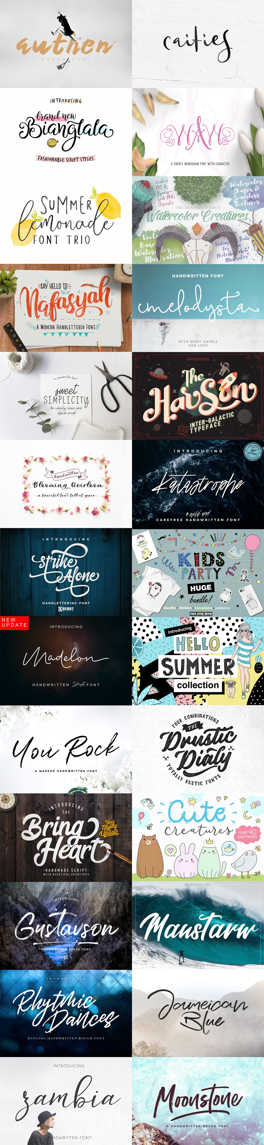 May Fonts Bundle