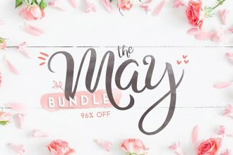 The May Fonts Bundle