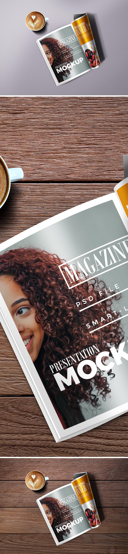 Magazine Mockkup PSD