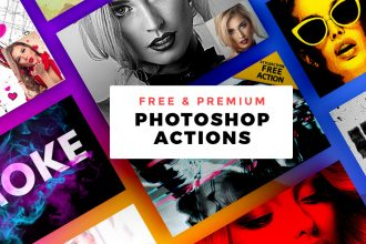 Free & Premium Photoshop Actions