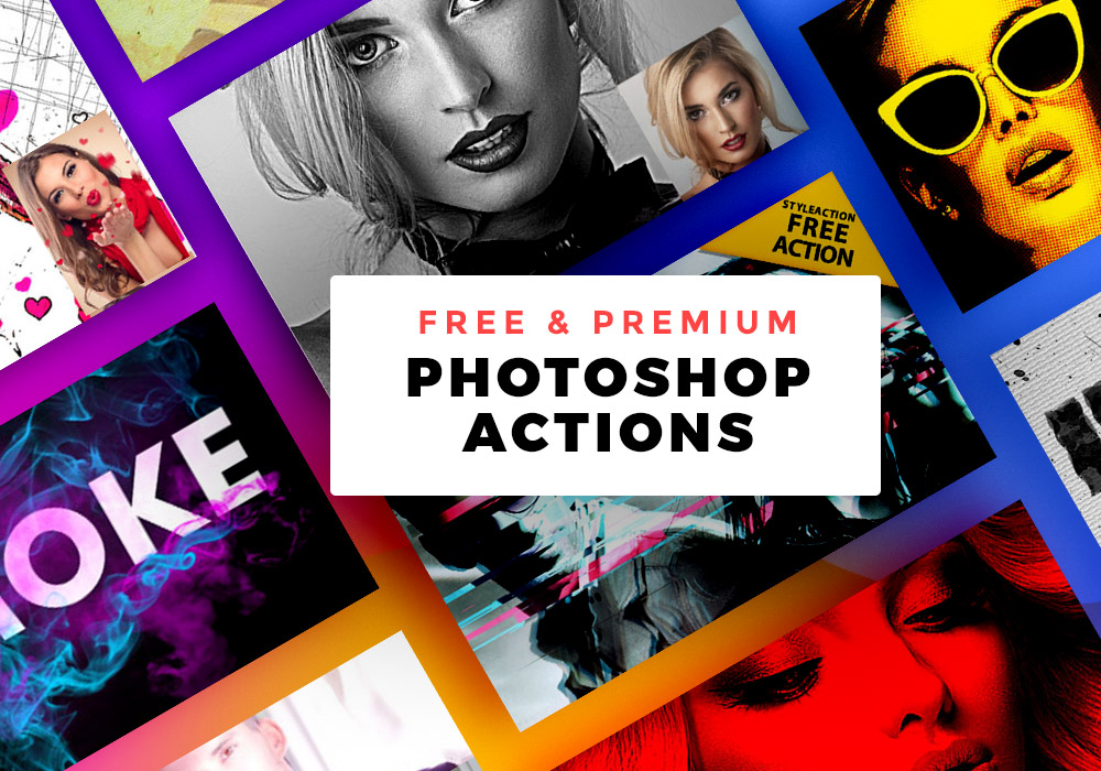 15 Free and Premium Photoshop Actions That Will Save Your Time