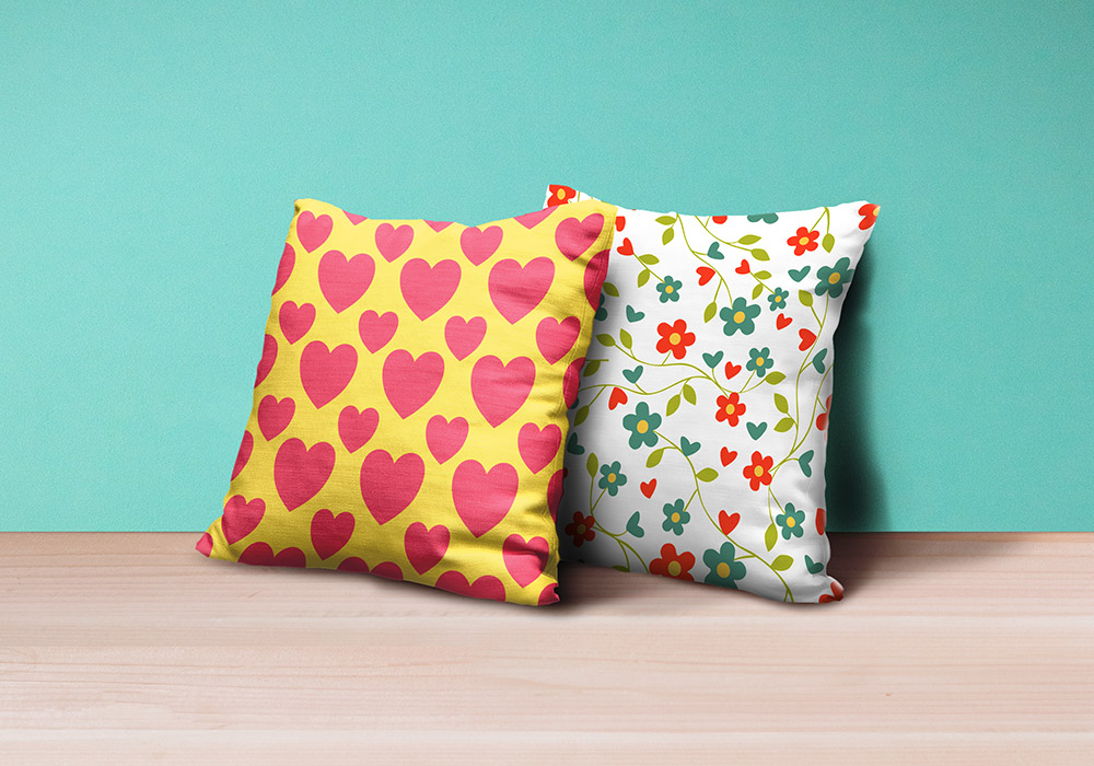 Pillows Mockup PSD