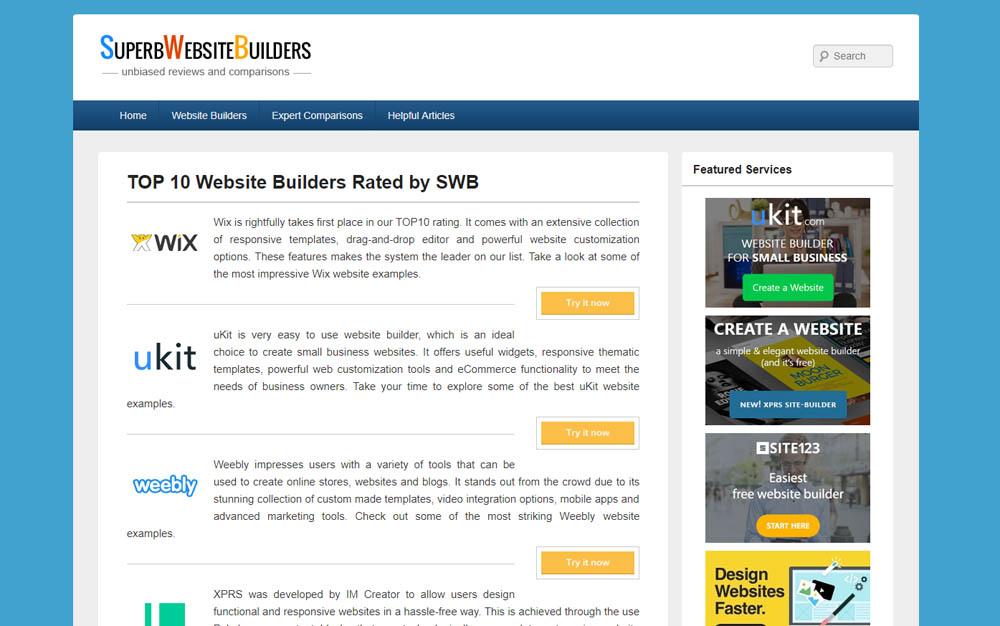 Super Website Builders