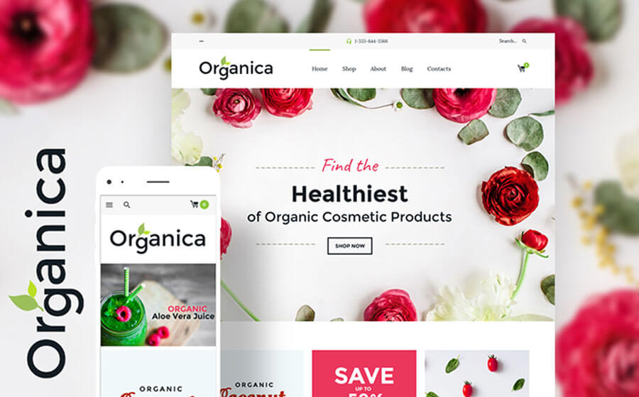 Healthy Goods Woocommerce Template
