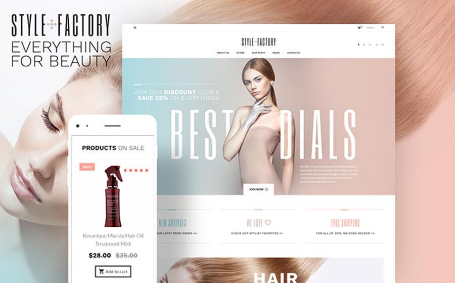 Hair Styling Tender WooCommerce Theme