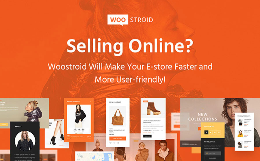 Eye-Catching Orange Multipurpose Trading WooCommerce Theme