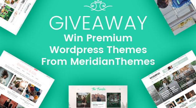 Giveaway: Win Premium WordPress Themes from MeridianThemes