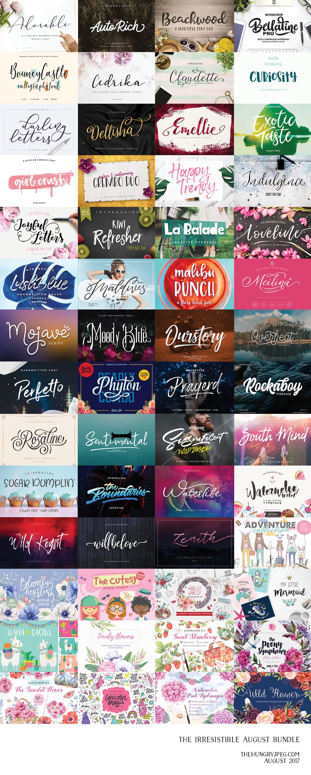 Fonts & Graphics Bundle