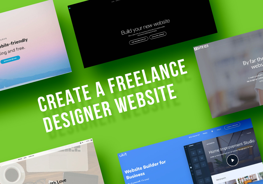 Top Services to Create a Freelance Designer Website