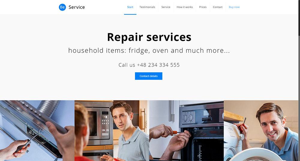 Be Service Theme