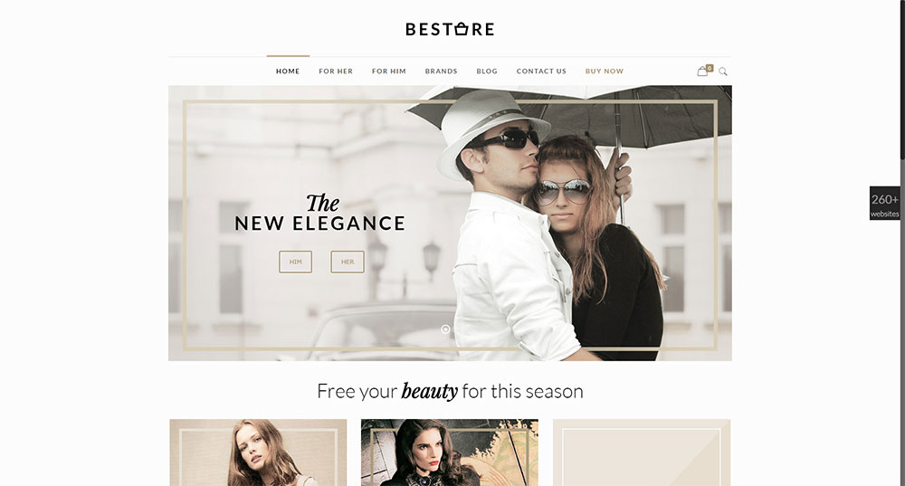 Be Store Theme