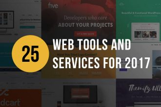 25 Web Tools & Services For 2017