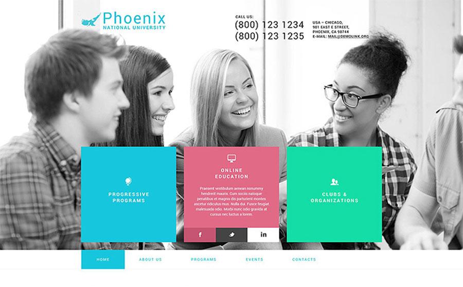 Phoenix WordPress Theme
