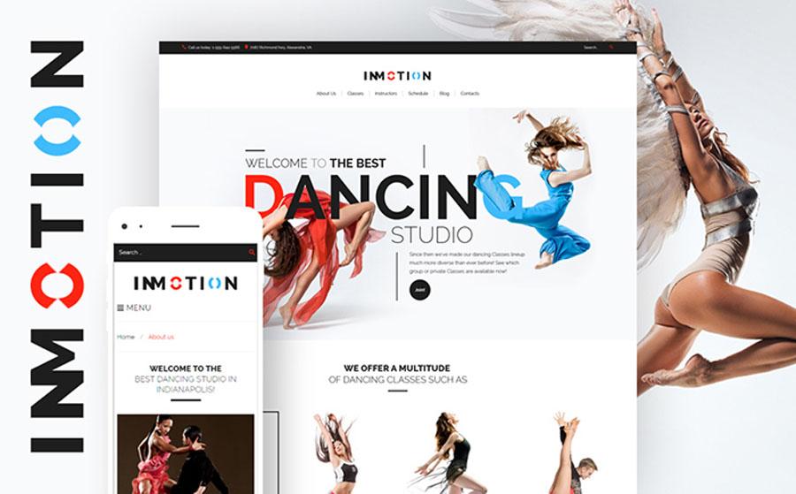 InMotion - Dance School WordPress Theme