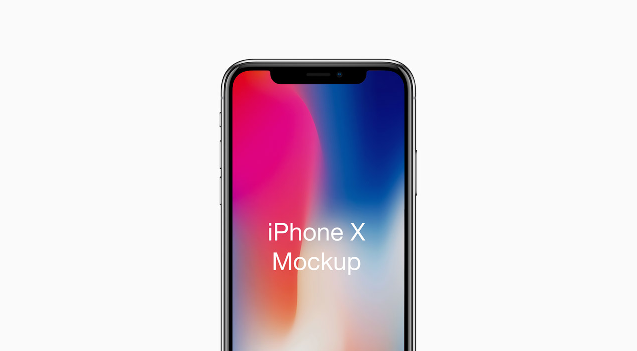 iphone x mockup psd graphicsfuel. Black Bedroom Furniture Sets. Home Design Ideas