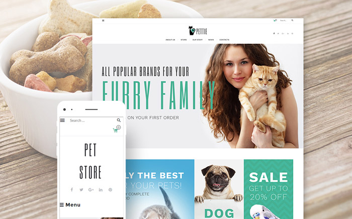 Pet Supplies Woocommerce Theme