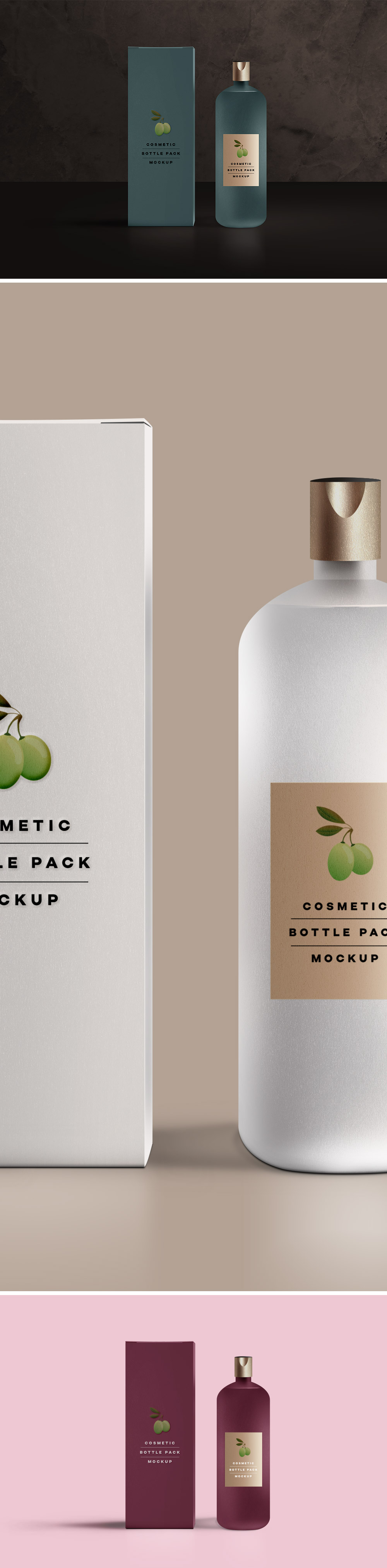 Cosmetic Packaging Mockup