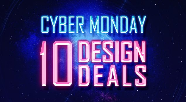 It's Cyber Monday And Here Are 10 Design Deals For You