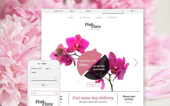 Flora PrestaShop Theme