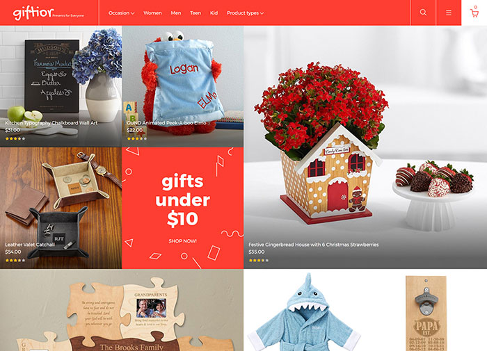 Gifts Store Magento 2 Template