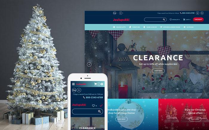 Santa Claus OpenCart Template