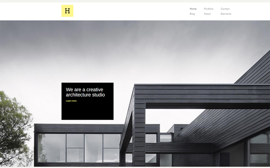 Hive - Creative Agency WordPress Theme