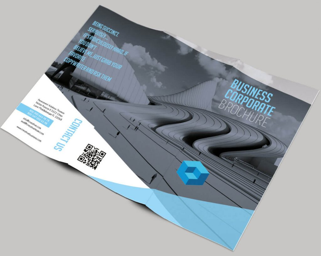 40 free professional tri fold brochures for business for Tri fold business brochure template