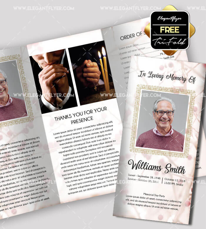 free funeral brochure templates online - 40 free professional tri fold brochures for business