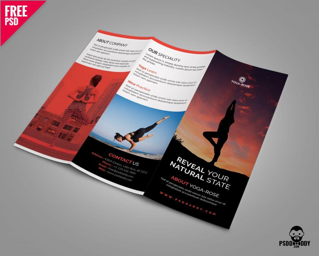 40 free professional tri fold brochures for business for Brochure templates tri fold