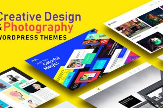 Top 20 Creative Design And Photography Portfolio WordPress Themes