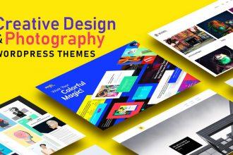 Top 20 Creative Design And Photography Portfolio WordPress Themes