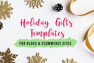 20 Beautiful Holiday And Gifts Templates for Blogs and eCommerce Sites